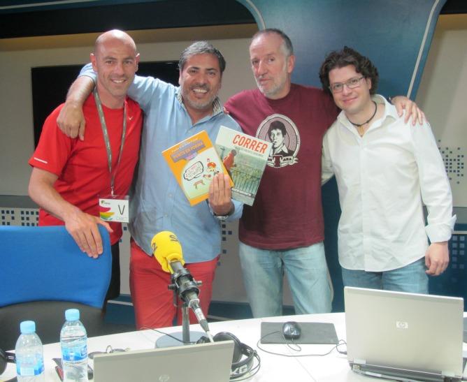 Martin Giacchetta pone en forma al equipo de 'A Vivir Madrid'
