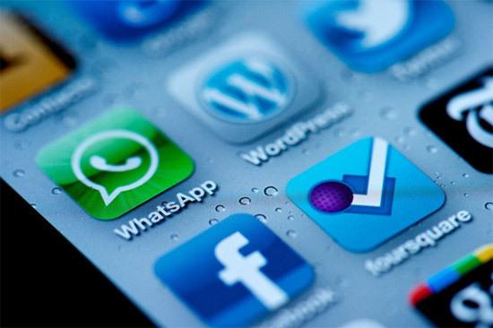 Pantalla de móvil con Whatsapp