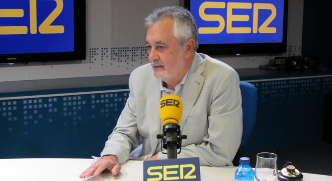 José Antonio Griñán, presidente Junta Andalucía y del PSOE, entrevistado en 'Hoy por Hoy'