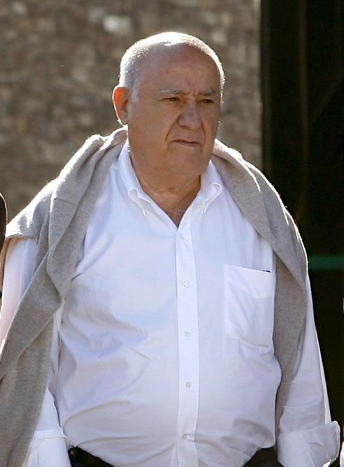 Amancio Ortega pasa a ser el tercer hombre más rico del mundo, con una fortuna de 46.600 millones de dólares