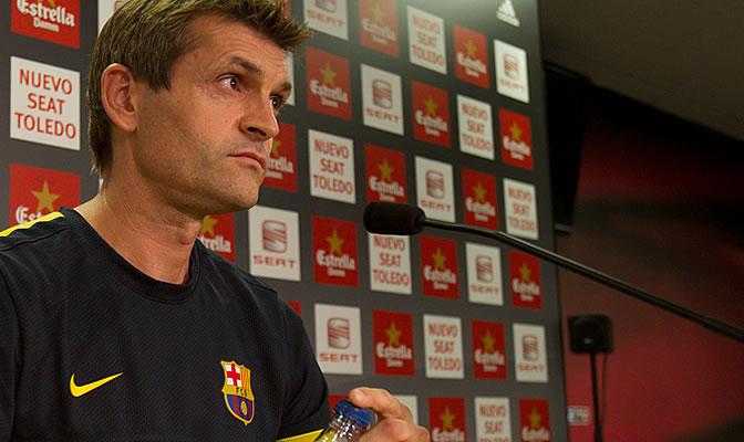 Tito Vilanova comparece en rueda de prensa