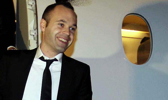 Iniesta, jugador del Barcelona