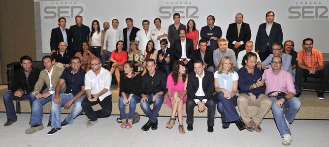 Foto de familia de la nueva Cadena SER