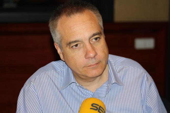 """Navarro qualifica d'""""espectacle"""" l'actuació que del PSC al debat de la declaració de sobirania"""