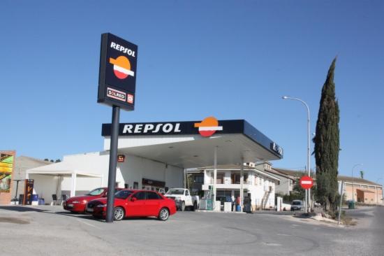 Imatge d'una benzinera