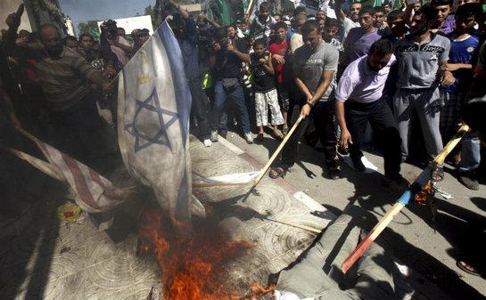 FOTOGALERIA: Protesta contra la película sobre Mahoma