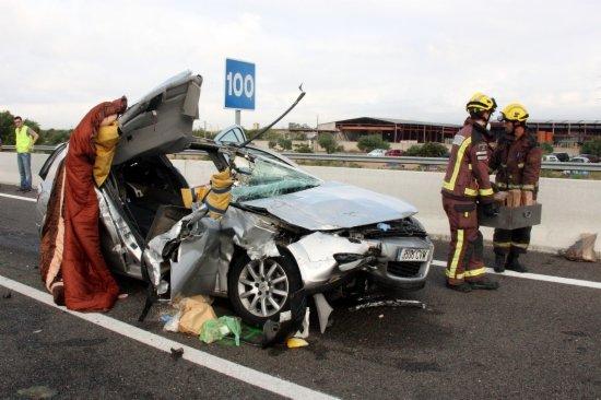Menys risc d'accident a les carreteres