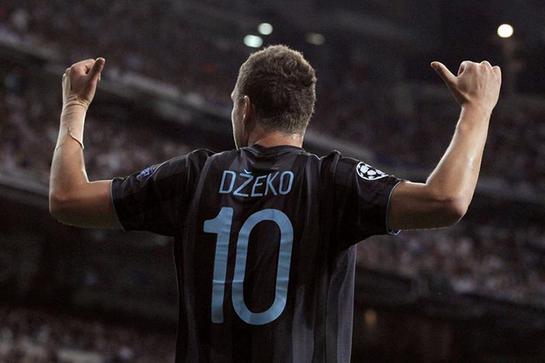 FOTOGALERIA: Dzeko celebra el primer gol del City