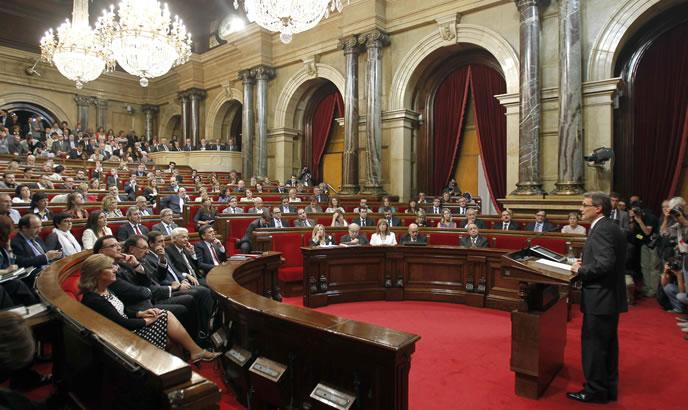 El presidente de la Generalitat, Artur Mas, ha anunciado en el Parlament elecciones autonómicas el próximo 25 de noviembre.