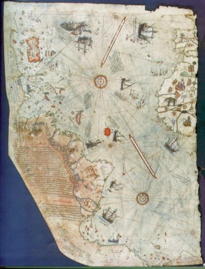 'Mapa de Piri Reis'