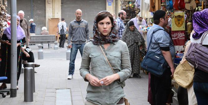 Carrie Mathison (Claire Danes), en una de las escenas del primer capítulo de la segunda temporad de 'Homeland'
