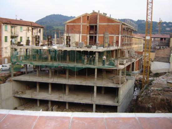 Un edifici en obres