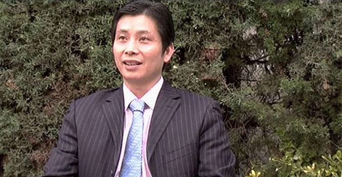 Gao Ping, una celebridad en la comunidad china de Madrid y en su país, es el supuesto dirigente de la trama de blanqueo de dinero