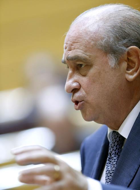 El ministro de Interior, Jorge Fernández Díaz, en una imagen de archivo