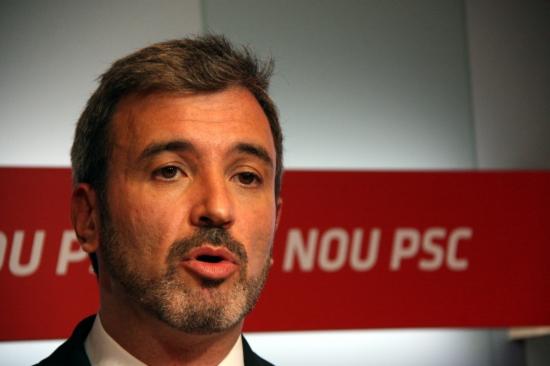 El portaveu del PSC, Jaume Collboni, en una imatge d'arxiu