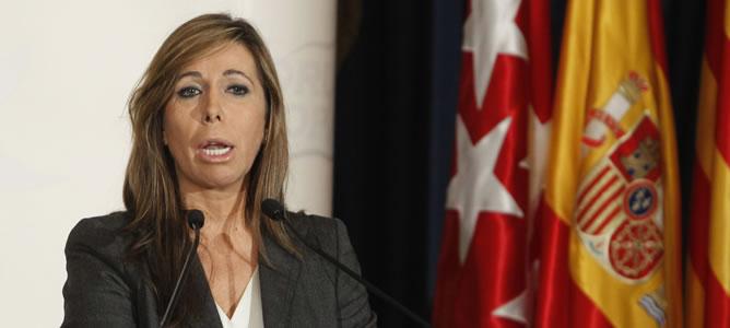 La líder del PP en Cataluña y candidata a la presidencia de la Generalitat, Alicia Sánchez Camacho