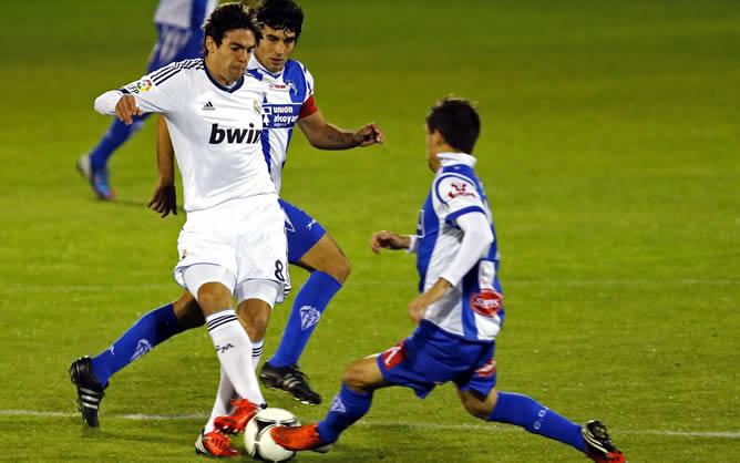 El brasileño marcó el segundo tanto del Real Madrid en Alcoy