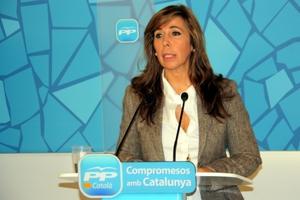 La presidenta del PPC, Alicia Sánchez-Camacho