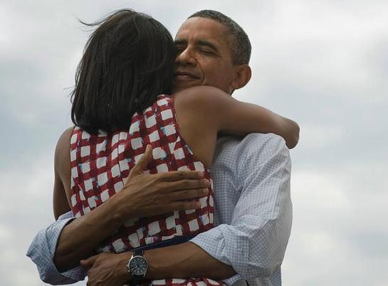 FOTOGALERIA: El matrimonio Obama
