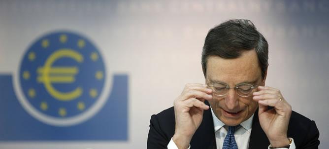 El presidente del Banco Central Europeo (BCE) comparece en Frankfurt