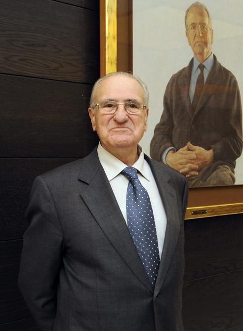 Fotografía facilitada por Telefónica de Cándido Velázquez-Gaztelu, quien ocupó la presidencia de la compañía.