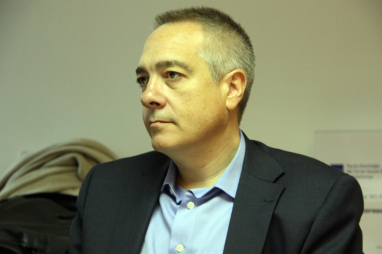 El candidato del PSC, Pere Navarro