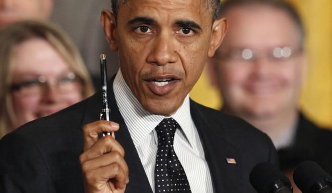 Obama, durante su primera rueda de prensa tras ganar las elecciones