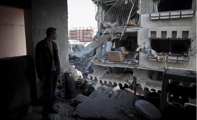 Cuatro miembros de una misma familia murieron en el bombardeo contra una vivienda de la localidad de Beit Lahiya, en el norte de Gaza