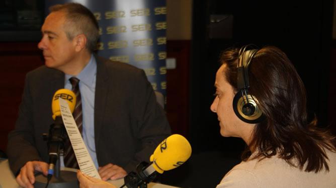 Pepa Bueno ha entrevistado en 'Hoy por Hoy' al candidato del PSC en las elecciones catalanas del próximo domingo