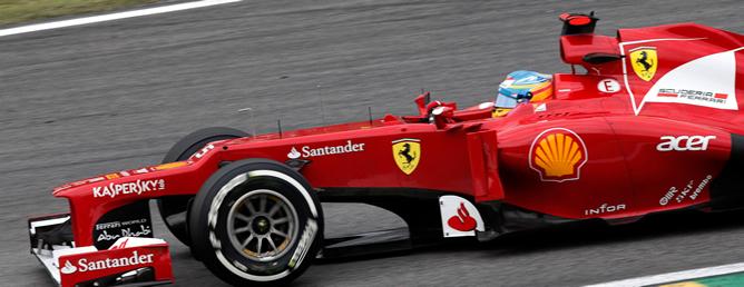Fernando Alonso aspira al milagro tres puestos por detrás de Vettel