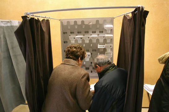 FOTOGALERIA: Las elecciones catalanas en imágenes