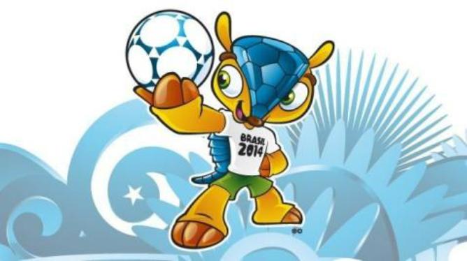 'Fuleco' es el nombre de la simpática mascota del Mundial de Brasil de 2014