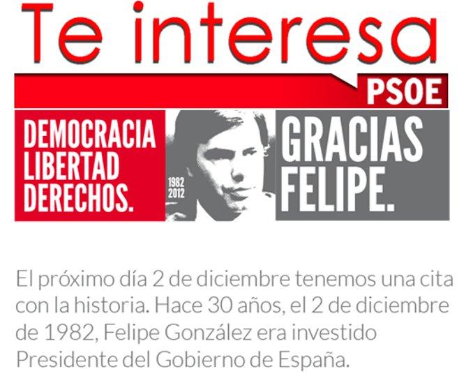 """Felipe González: """"El PSOE ha perdido la vocación mayoritaria y tiene que recuperarla"""""""