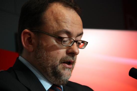 Daniel Fernández, explicant la reacció del PSC a la trama de Sabadell.-ACN-
