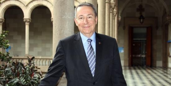 Dídac Ramírez, reelegit rector de la UB