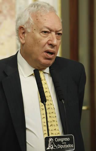 García-Margallo ha anunciado que España apoyará la resolución que presentarán los palestinos en la Asamblea General de Naciones Unidas para convertirse en Estado observador.
