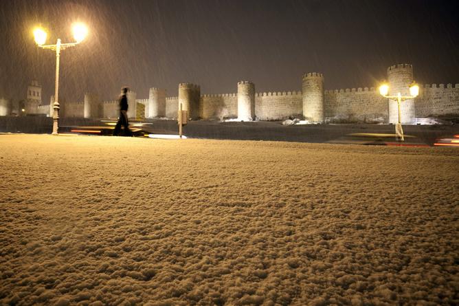 Más de 30 provincias están en alerta por nevadas