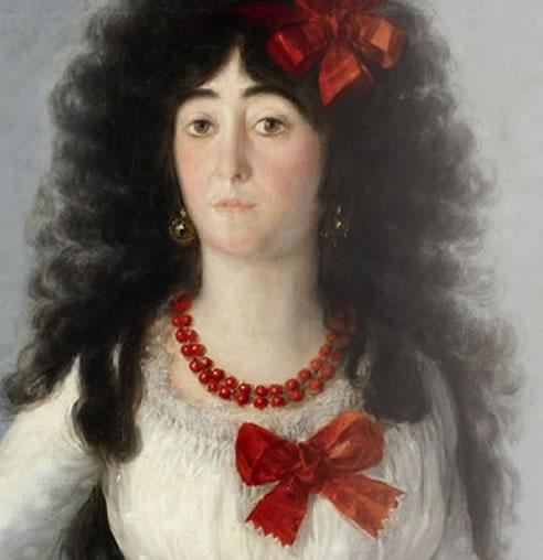 La exposición 'El legado de la Casa de Alba. Mecenazgo al servicio del arte' reúne diferentes obras pictóricas como este retrato de Goya.