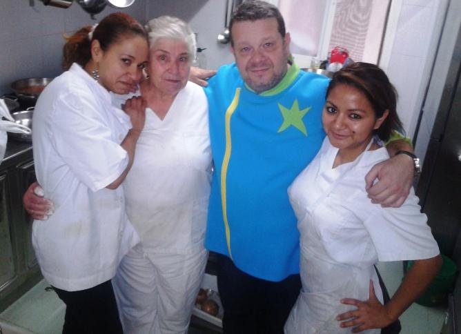 El chef de 'Pesadilla en la cocina' no ha visitado el madrileño 'Casa Fadrique' para rodar un programa. De hecho se fue encantado...