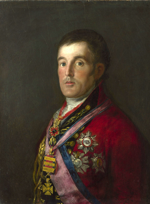 Retrato del Duque de Wellington, de Francisco de Goya