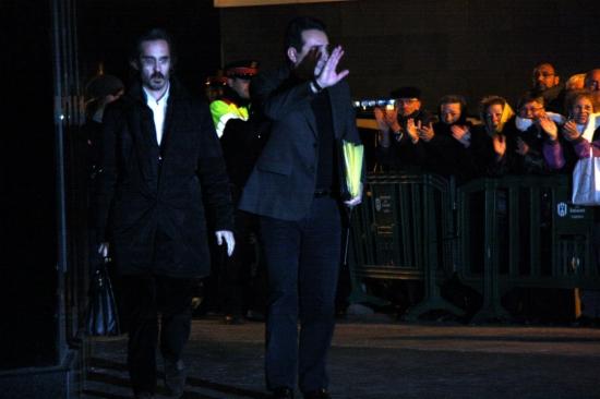 L'alcalde de Sabadell, Manel Bustos, entra al jutjat per declarar respecte del cas Mercuri