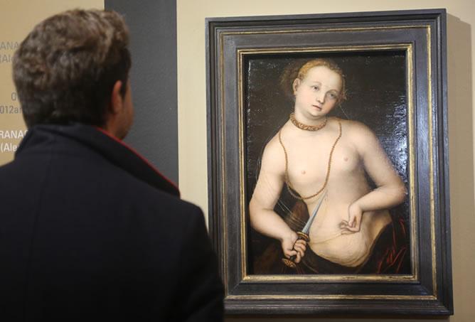 'Lucrecia' de Lucas Cranach el viejo