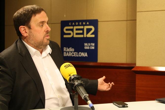 El líder d'Esquerra Republicana, Oriol Junqueras