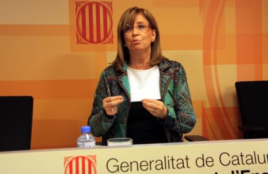La consejera de Enseñanza en funciones, Irene Rigau