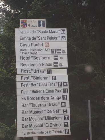 El RACC detecta importants defectes en la senyalització del Pirineu