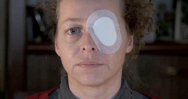 Ester Quintana, la dona que va perdre un ull durant les càrregues policials de l'última vaga general