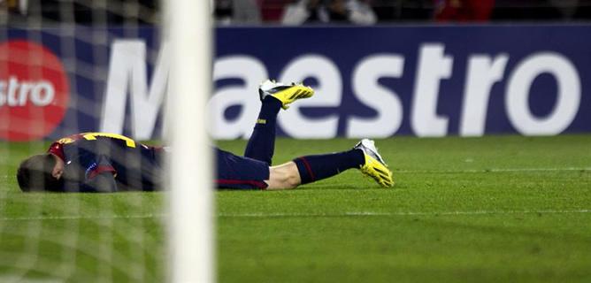 Leo Messi entrena en el gimnasio y despeja los temores sobre una lesión grave