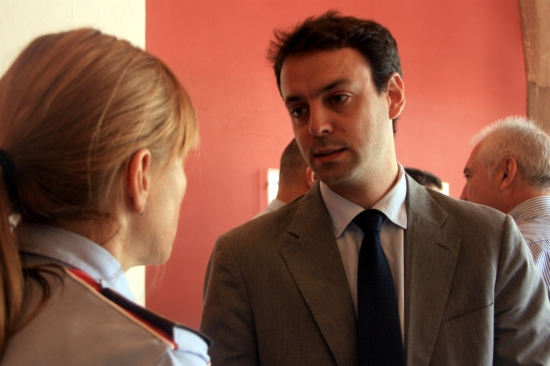 El director general de la policia, Manel Prat