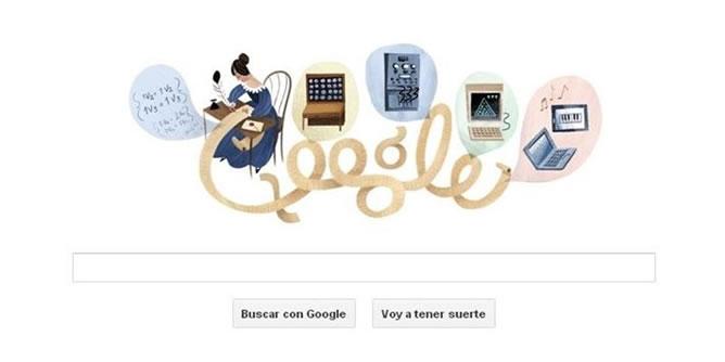 Google rinde homenaje a la primera programadora desde que escribió la manipulación de los símbolos