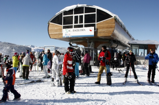 L'estació de Baqueira Beret és la que ha rebut més esquiadors